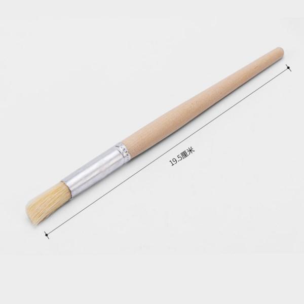 Grinder brush - Portafilter brush - device brush wood round