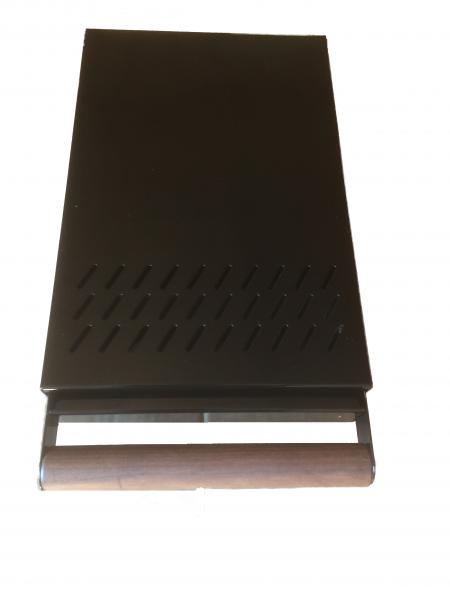 Kaffeesatz Schublade Profiline S schwarz glänzend