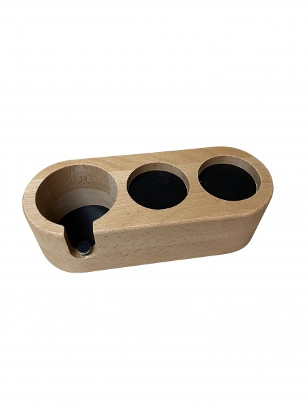 Tamping Station Classic Holz