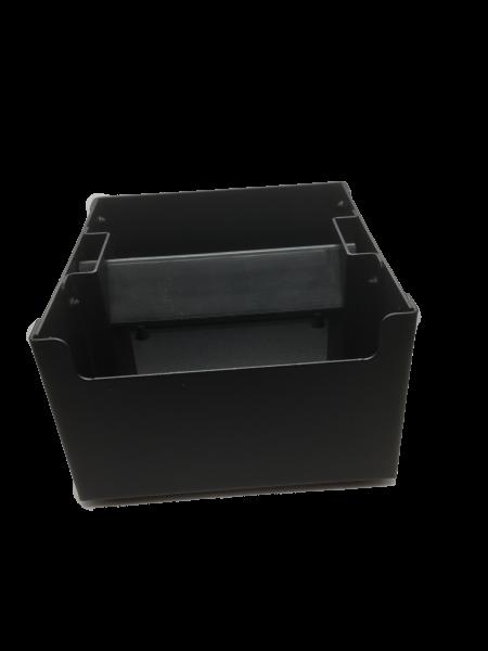 Knockbox schwarz texturiert 135x135mm