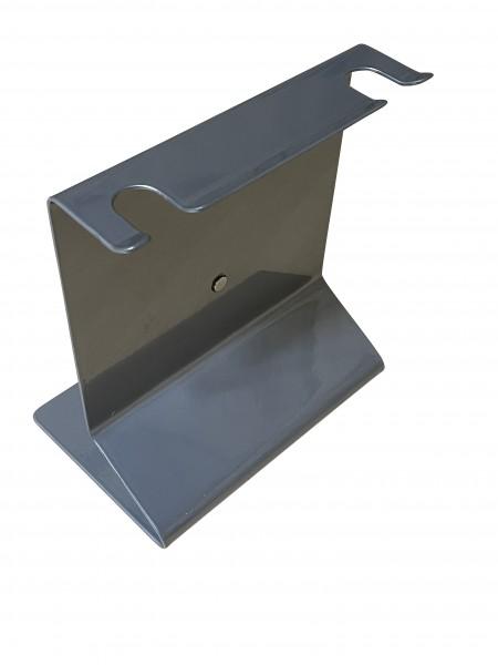 Siebträgerhalter für 2 Siebträger Chrom-Silber