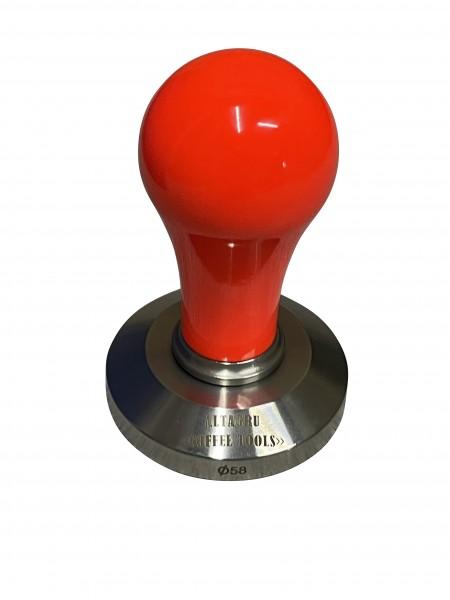 Tamper smart leuchtorange 58mm