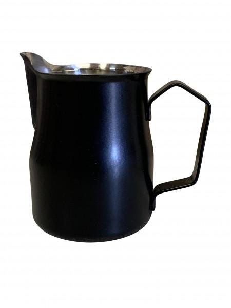 Latte Art Kännchen- Milchkännchen 500ml schwarz