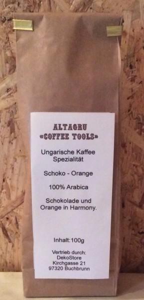Kaffee Schoko Orange 100% Arabica