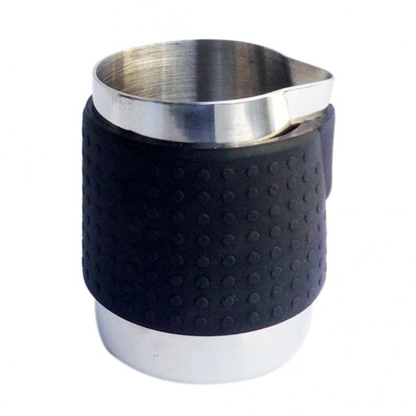 Milchkännchen Silikon schwarz 350ml
